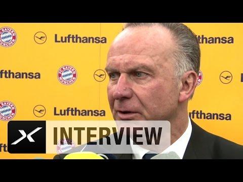 Karl-Heinz Rummenigge über Wenger, Arsenal und Götze | FC Arsenal - FC Bayern München