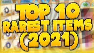 Top 10 Rarest Itęms in Animal Jam Classic - In Depth (2021)