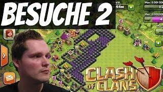 BESUCHE UND REVIEWS #2 || CLASH OF CLANS || Let's Play Clash of Clans [Deutsch/German HD]