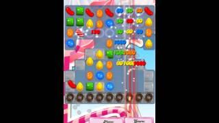 Candy Crush Saga Level 496 iPhone No Boosts