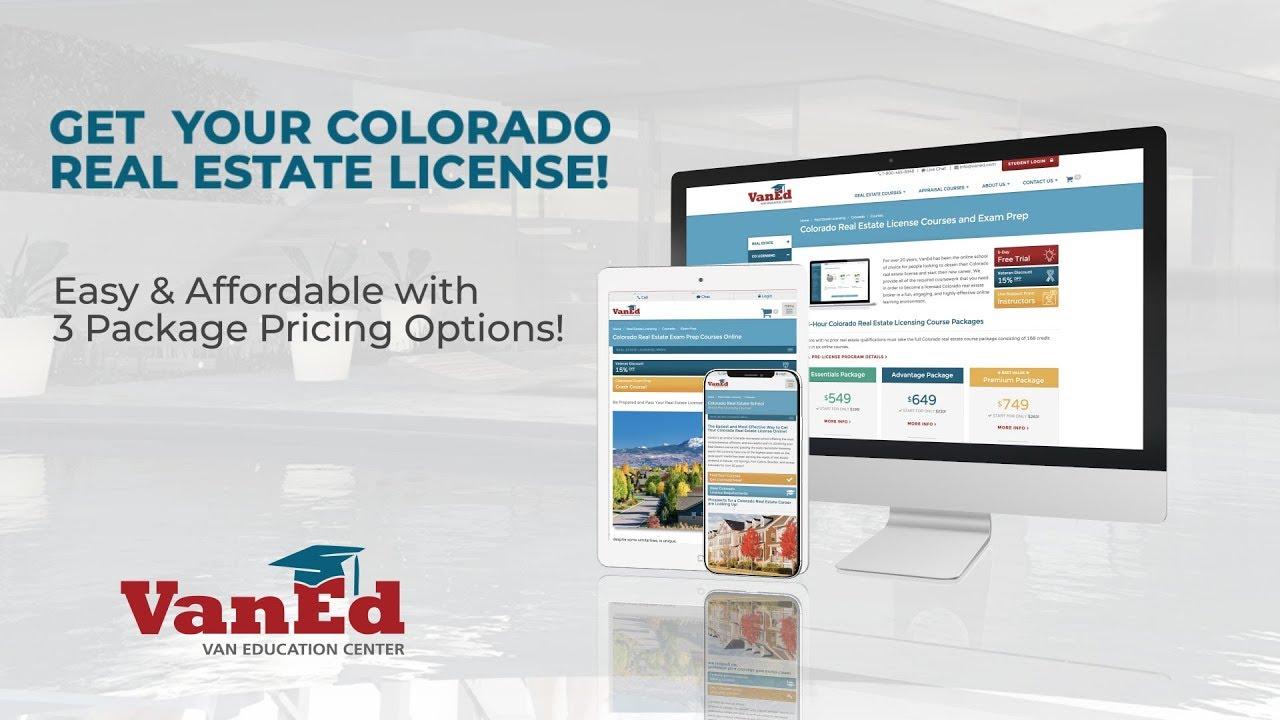 Colorado Real Estate Pre-License Courses