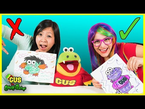 3 Marker Challenge Coloring with Ryan's Mommy and Rainbow Rae!