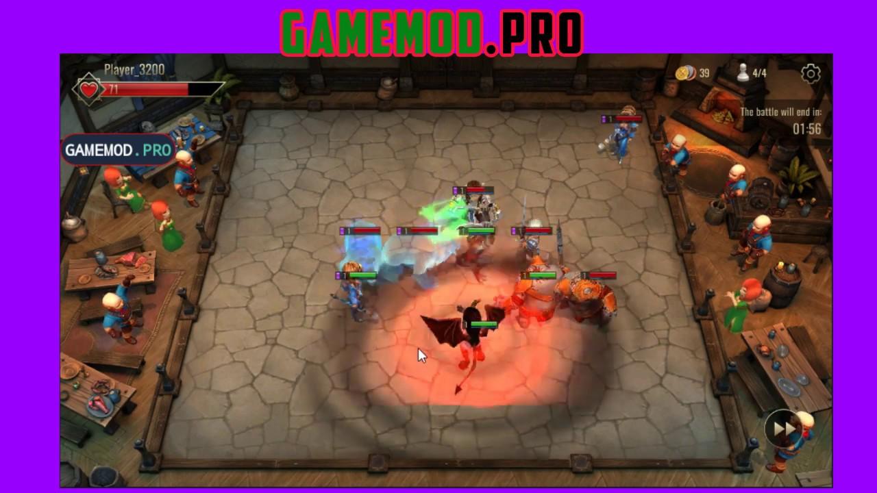 Board Heroes League Mod | Damage | God Mode - GameMod Pro