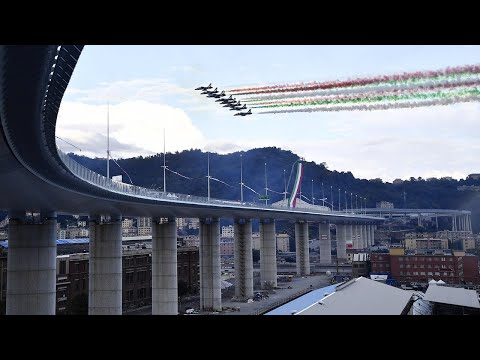 New Genoa bridge
