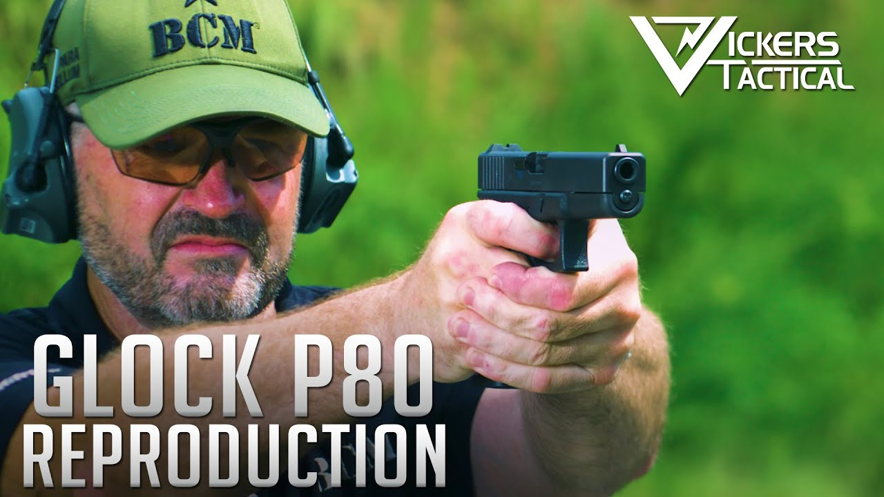 GLOCK P80 Retro Reproduction