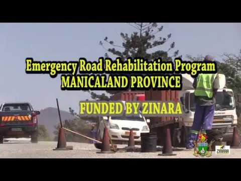 ZINARA Road Rehabilitation efforts in Manicaland Province