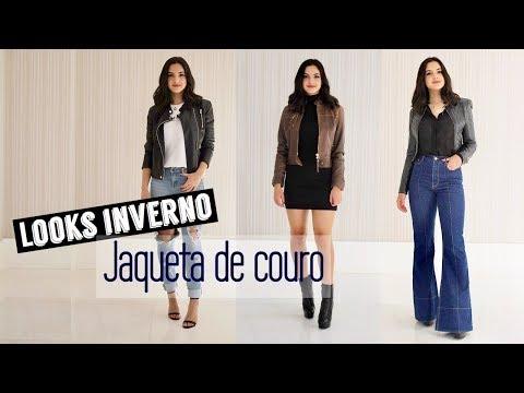 Dicas para se vestir no inverno: Jaqueta de couro