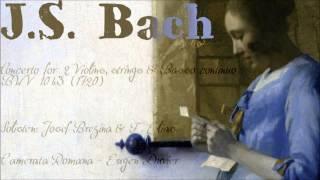 """J.S. Bach - """"Largo ma non tanto"""" BWV 1043"""