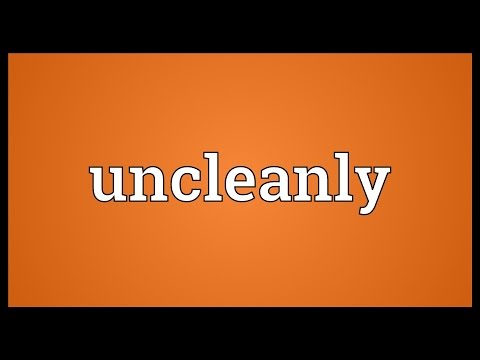 Header of uncleanly