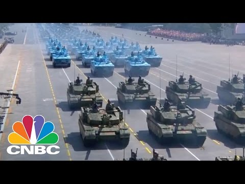 China Showcases Military Power | CNBC