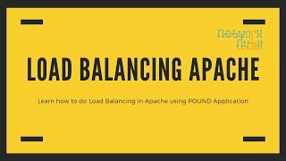 Load Balancing Apache Server | How Set Up Load Balancing Apache Server