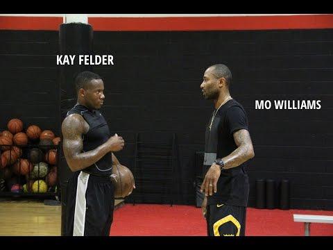 Kay Felder workout w/ Mo Williams & Lucky Legend
