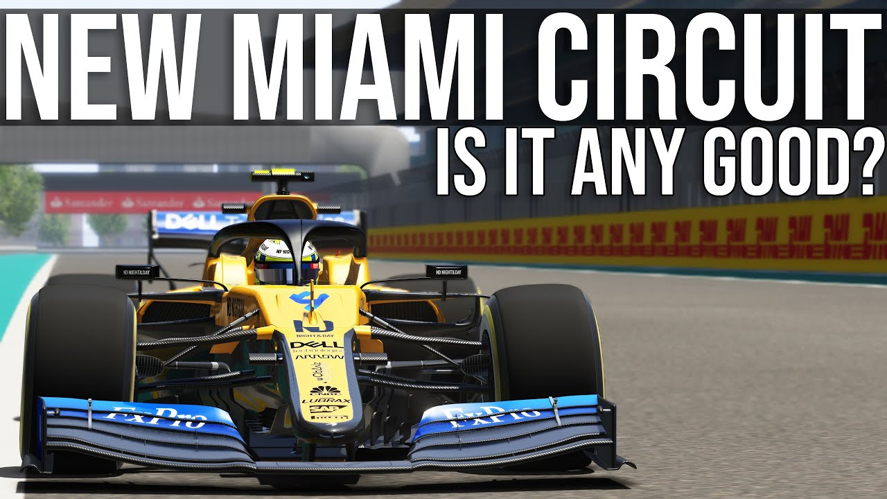 Driving The NEW Miami Formula 1 Track