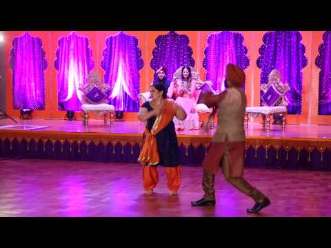 Sangeet puneet & preet 2016 best performance by friends /PUNJABI/INDIAN WEDDING