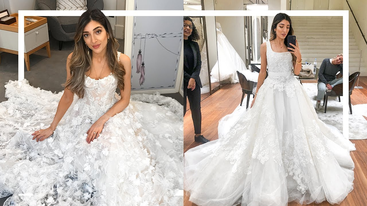 b49f1c4b1de03 WEDDING DRESS SHOPPING…GETTING OVERWHELMED! | Amelia Liana – Shopping time