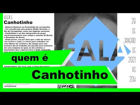 CANHOTINHO: FALA Canal - artes e entretenimento #ofalacanal #3 #CanhotinhoDoCavaquinho