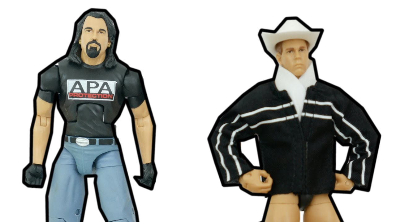 WWE BRADSHAW JBL MATTEL ELITE COLLECTION SERIES 38 WRESTLING ACTION FIGURE APA