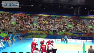 بالفيديو: تشجيع حماسي من جماهير البرازيلية لمنتخب مصر للكرة الطائرة للجلوس بدورة البارالمبية