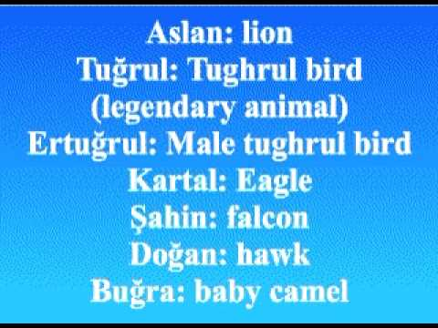Turkish Names And Their Meanings