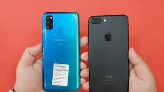 iPhone 7 Plus vs Samsung Galaxy M30s