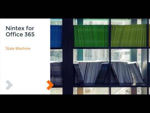 How To: Nintex Workflow for Office 365 - State Machine