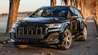 2020 AUDI Q7 50TDI QUATTRO in BEAUTIFUL DETAILS - IS IT GOOD ENOUGH? Black optics and S-line package