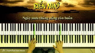 Biển Nhớ ( Trịnh Công Sơn) | Piano Cover