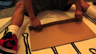 How to make a cardboard sword