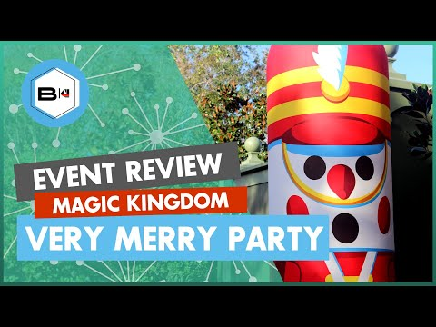 Review of 2018 Mickey's Very Merry Christmas Party, Magic Kingdom Mp3