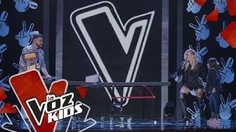 Entrenamiento de Valentina del Equipo Fanny Lu | La Voz Kids Colombia 2019