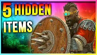 Skyrim: Best HIDDEN Item Location (5 Secret Weapons & Armor for Warrior Builds)