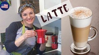 ☕ Как приготовить КОФЕ ЛАТТЕ в итальянской гейзерной кофеварке, пошаговая инструкция, COFFEE LATTE