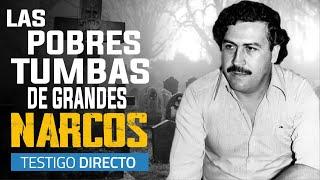 Así son las tumbas de Pablo Escobar, Griselda Blanco y el ¨Mono Jojoy¨ - Testigo HD