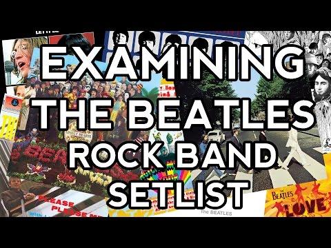 Examining The Beatles Rock Band Setlist