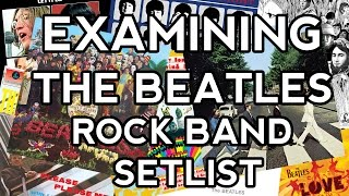 Examining The Beatles Rock Band Setlist