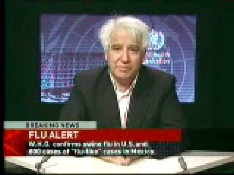 'heightened concern' over new flue-like virus breakout (Swine flu?)