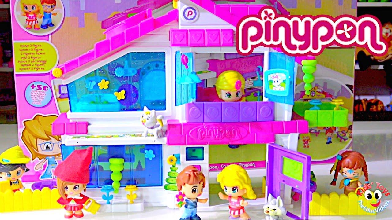 Pinypon Dollhouse + Pinypon Mini dolls - Kids' Toys