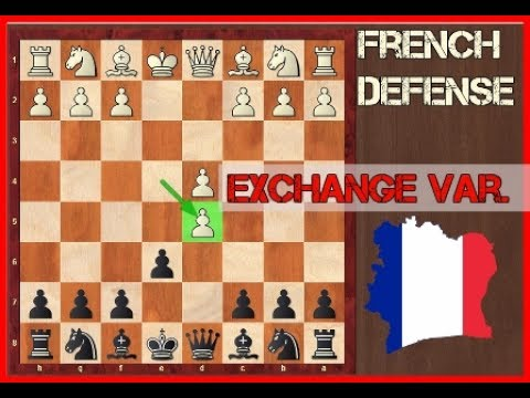 French Defense Exchange  - French Deference Opening