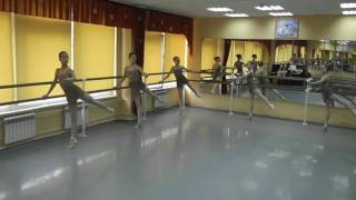 Урок классического  танца 4 класс ДПОП в ДШИ. Преподаватель Макаркина Надежда Викторовна.