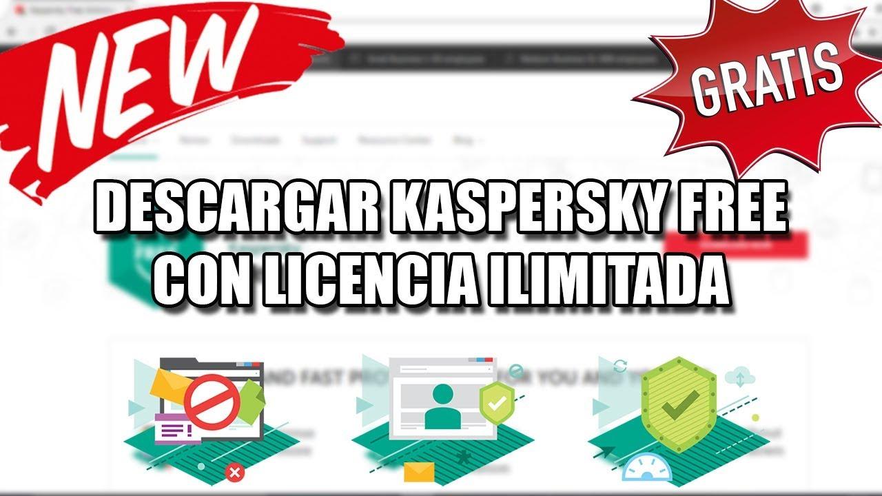 descargar gratis kaspersky en español con licencia