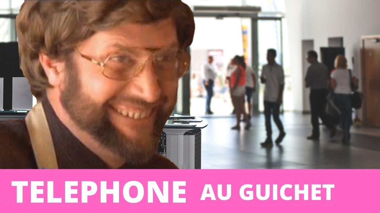 Replay François L'embrouille téléphone au guichet