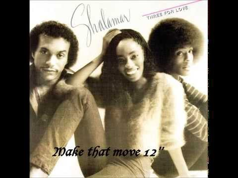 Shalamar - Make that move 12'' (1980)