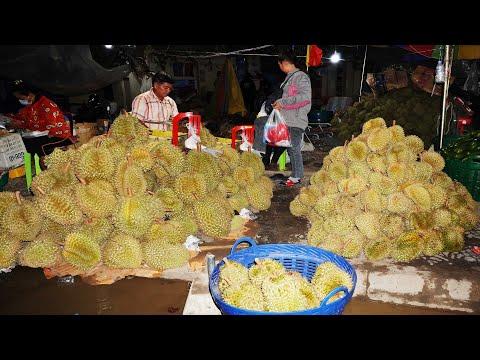 Farmers Roadside Fresh Food Market @ Kuor Srov, Phnom Penh Suburb Street Food