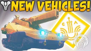 Destiny 2: NEW VEHICLES & TANKS! Social Space Easter Egg, Cryptarch & Cabal Star Destroyer