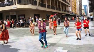 Fusion Beats Rundle Mall Bollywood Flash Mob 2016