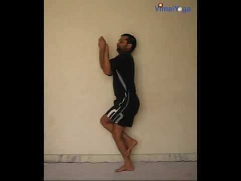 yoga asana  garudasana  youtube