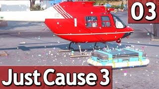 Just Cause 3 #3 BEFREITE STADT 60 FPS Abriss Simulator Lets Play deutsch german