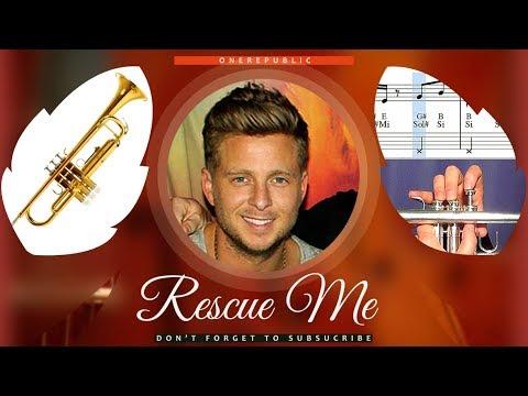 Rescue Me Sheet Music Trumpet - OneRepublic Rescue Me Tutorial thumbnail