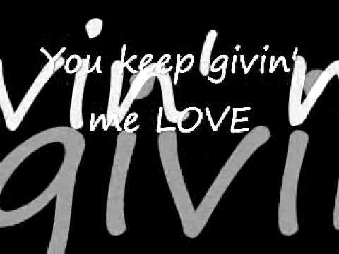 BRIAN LITTRELL - YOU KEEP GIVIN ME - LYRICS
