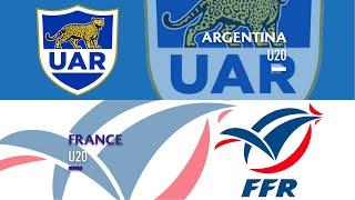 World Rugby U20s 2019 - Argentina v France - FULL MATCH